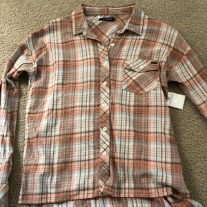 Brand New Volcom Flannel Shirt